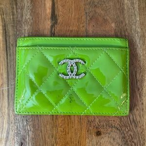 Authentic Chanel Patent Leather Cardholder